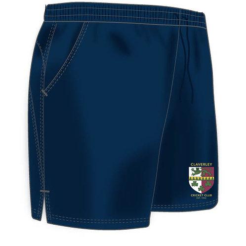 Shorts (H671) Navy - Claverley CC