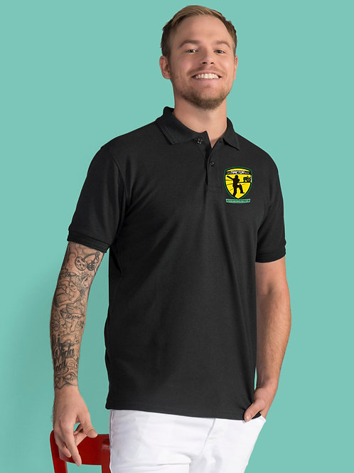 Polo Shirt Black (SG59)   Farmborough