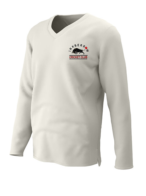Cricket sweater L/S (C7) Cream - Inkberrow CC