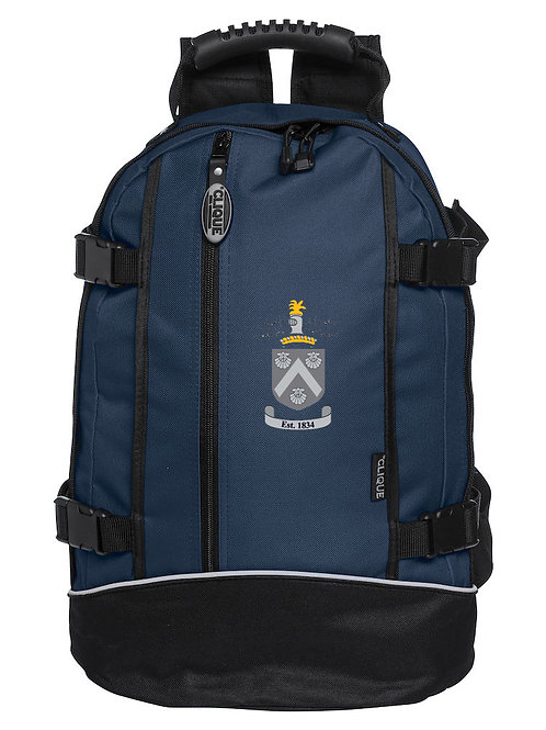 Backpack (040207) Blue/Black - Hagley