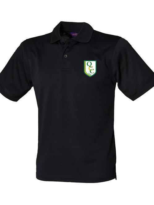 Men's Polo Shirt (HB475) Black -  Quatt CC