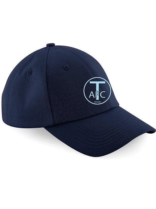 Baseball Style Cap, Navy - Trysull AFC