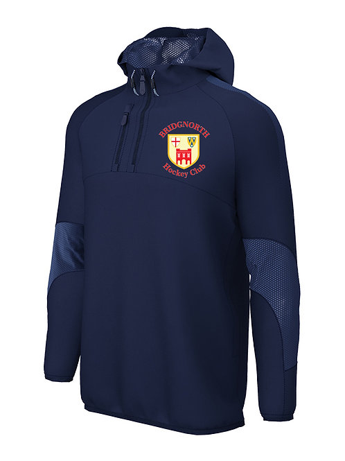 1/4 Zip Shell Jacket Navy (E873) Bridgnorth HC
