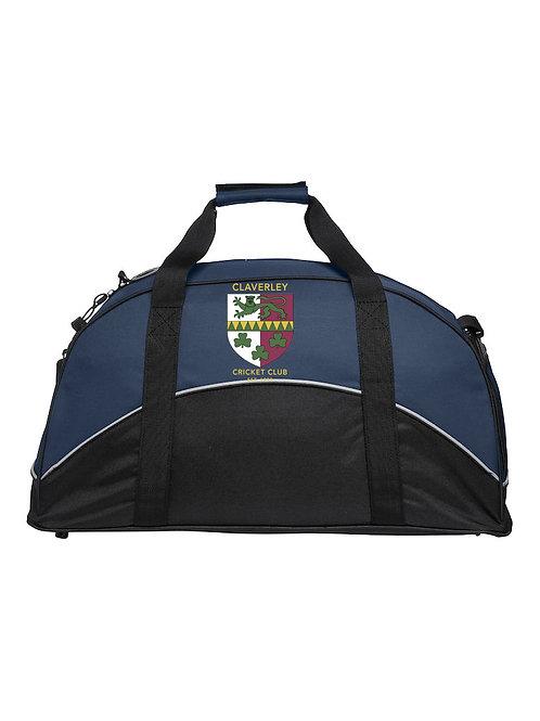 Match Day Holdall (040208) Black/Blue - Claverley CC