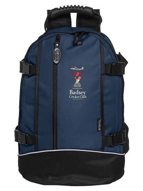 Backpack (040207) Black/Blue - Badsey CC