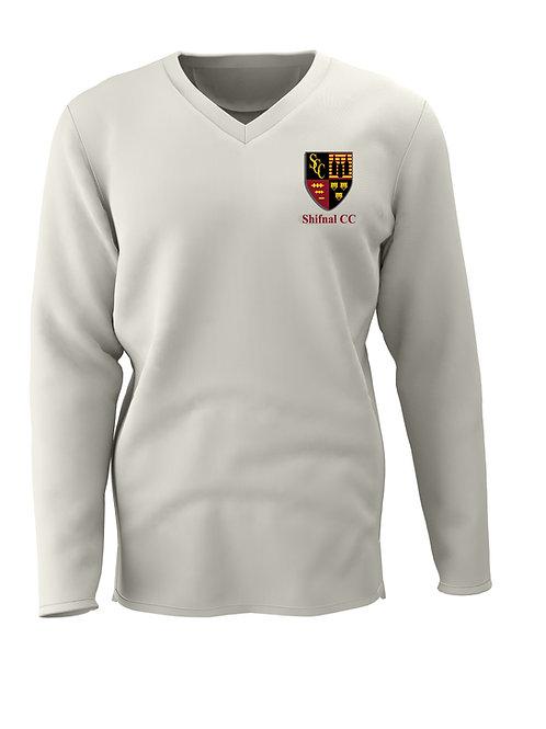 Cricket Sweater L/S (C7) Cream - Shifnal