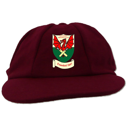 Traditional Cricket Cap - Maroon - Newtown