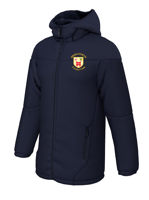 Team Coat - Navy (H784) Bridgnorth Cricket