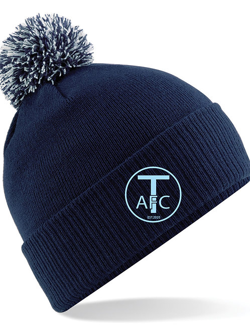 Bobble Hat, Navy - Trysull AFC