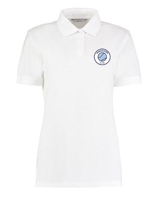 Ladies Cotton Polo Shirt (KK703) Worcester Lawn Tennis Club