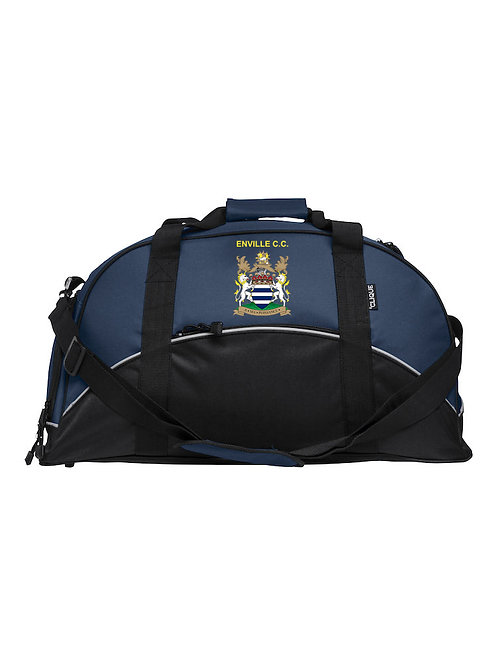 Match Day Holdall (040208) - Black/Blue - Enville CC