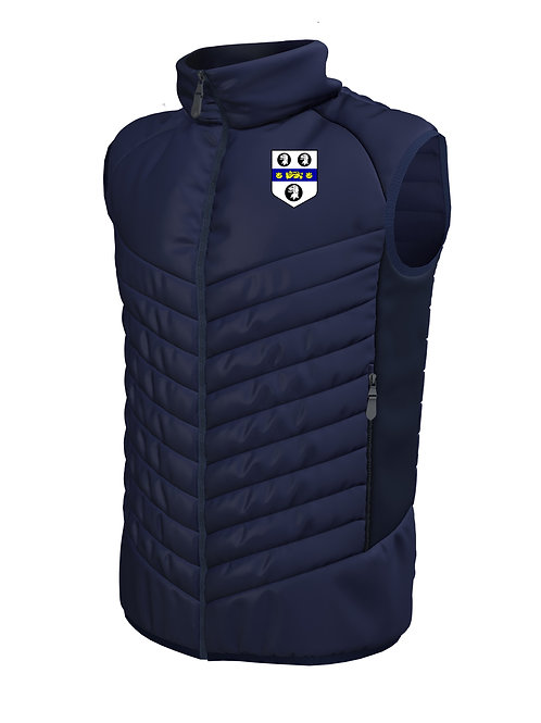Padded Gilet (E870) Navy - Old Moseley Arms CC