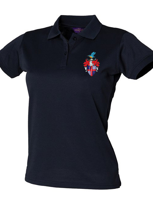 Ladies Polo Shirt (HB476) Navy - Redditch