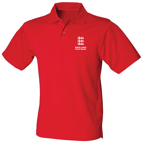 Polo Shirt (HB475) Red -England