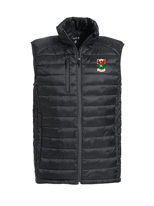 Padded Gillet (020974) Black Newtown