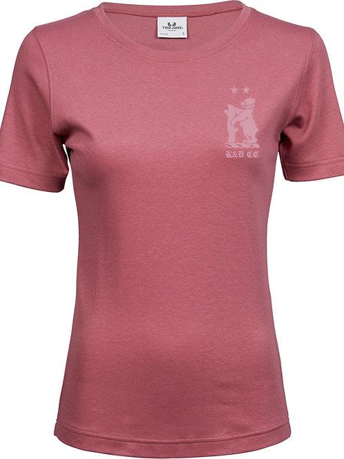 Ladies T-Shirt (TJ580) Rose - Knowle & Dorridge