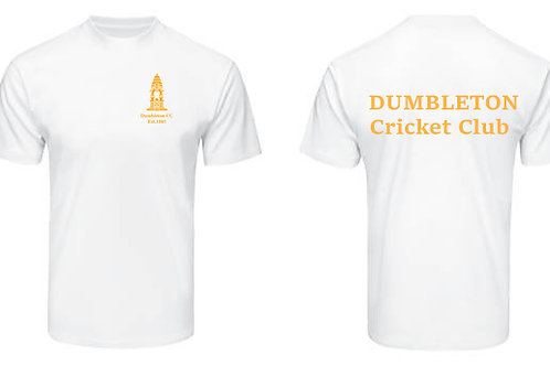 Tec Tee (H787) White - Dumbleton