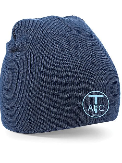 Beanie Hat (B44) Navy - Trysull AFC