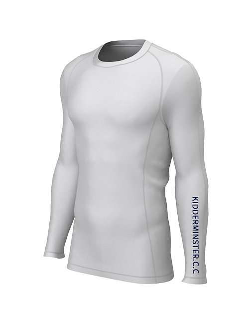 Baselayer (H284) White - Kidderminster CC