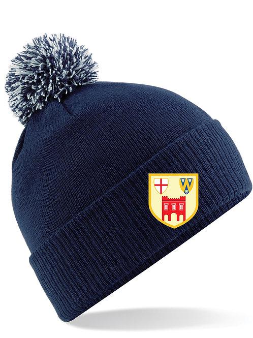 Ski Hat - Navy - Bridgnorth Hockey