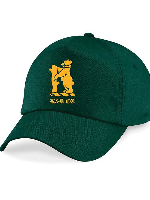 Baseball Style Cap (B15) - Green - Knowle & Dorridge