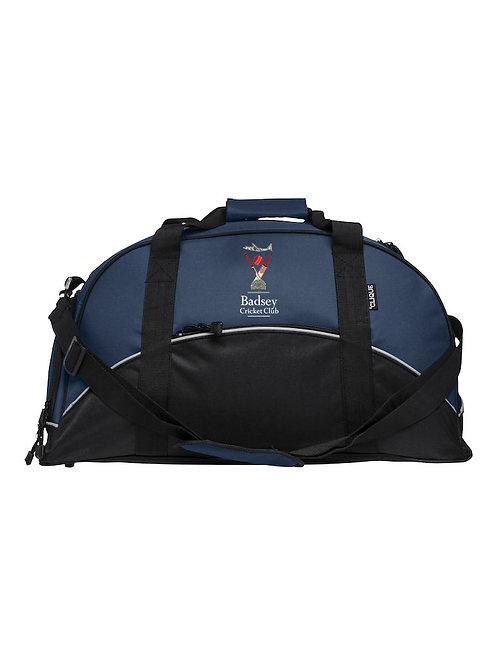 Match Day Holdall (040208) Black/Blue - Badsey CC