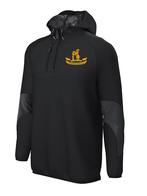 1/4 Zip Shell Jacket (E873) Black - Olton & WW CC