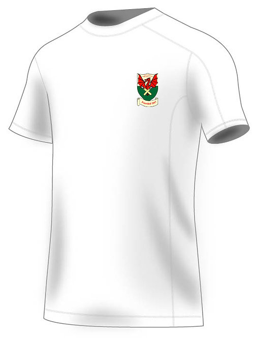 White tec sub T-Shirt (H787) White - Newtown