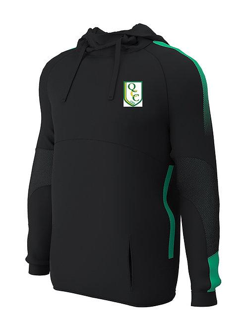 Hoodie (E874) Black/Green - Quatt CC