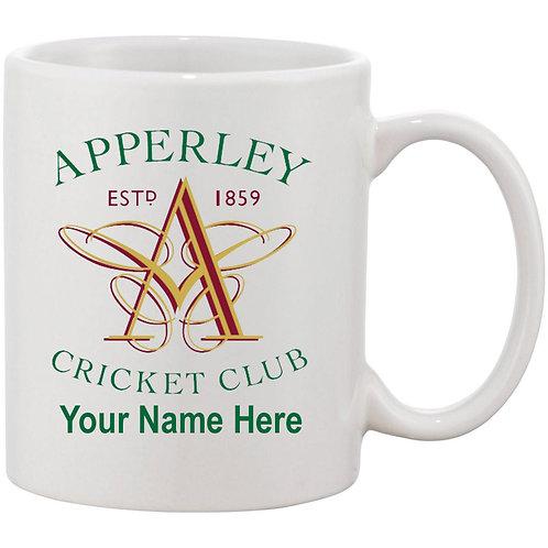 Mug (inc name) - Apperley CC