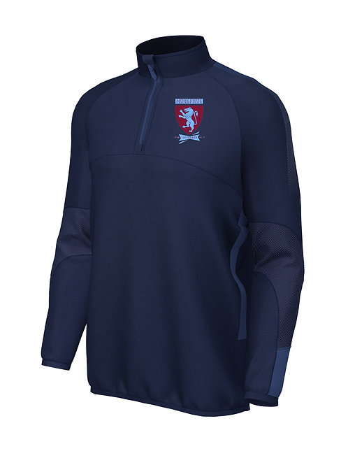 Pro Mid Layer 1/4 Zip (E868) Navy - Aston Unity
