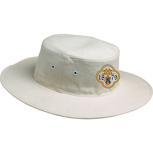 Sun Hat - Cream - Temple Grafton CC
