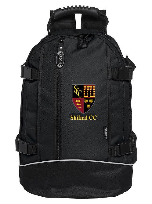 Back Pack (040207) Black - Shifnal CC