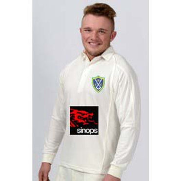 Long Sleeve Cricket Shirt   H2  Belbroughton