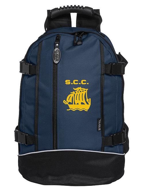 Back Pack (040207) - Black/Blue - Stourport CC
