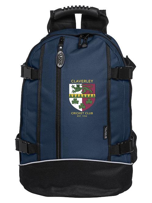 Back Pack (040207) Navy/Black - Claverley CC