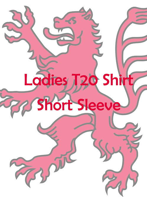 Ladies Bespoke T20 S/S Shirt - B & E R CC