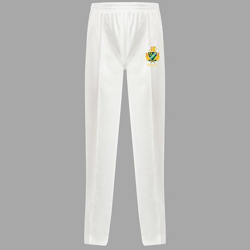 Cricket Trouser (H3) White - Barnt Green