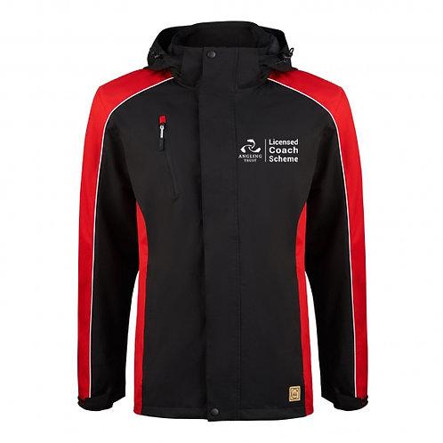 Avecet Jacket - Black/Red - Angling Trust - 4688
