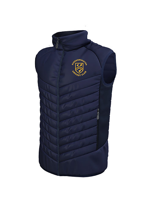 Padded Gilet (870) Navy - Kidderminster