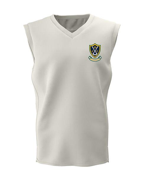 Cricket Slipover (H6) Cream - Belbroughton CC