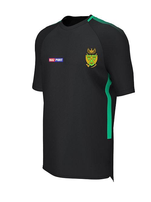 Training Tee (E865) Black/Green - Wem CC