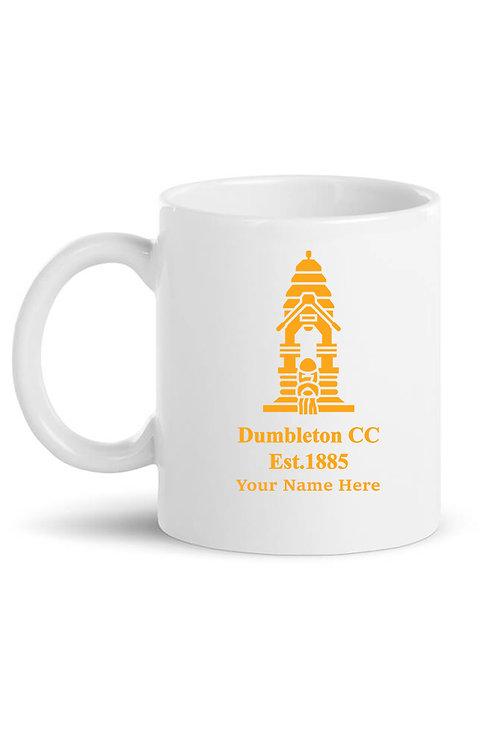 Mug - Inc name - Dumbleton CC