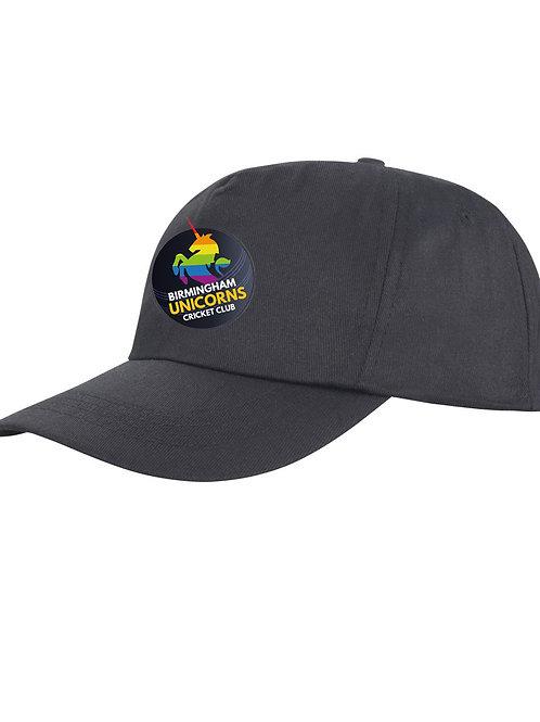 Baseball Style Cap - Black - Unicorns