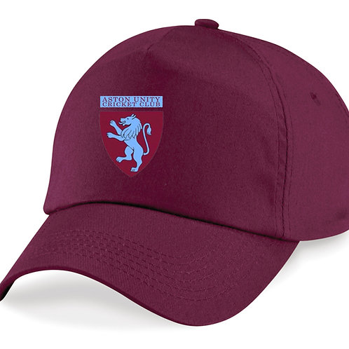 Baseball Style Cap - Maroon - Aston Unity