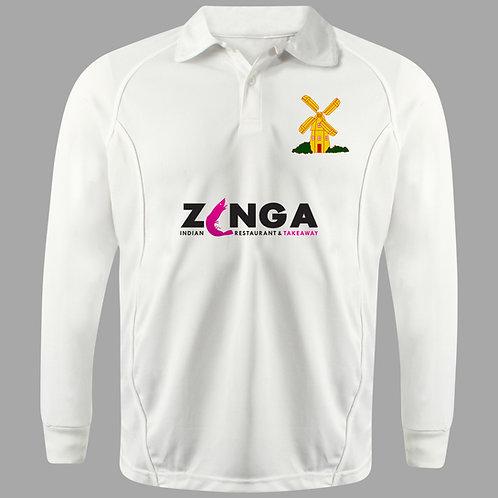 Cricket Shirt Long Sleeve H2  Avoncroft