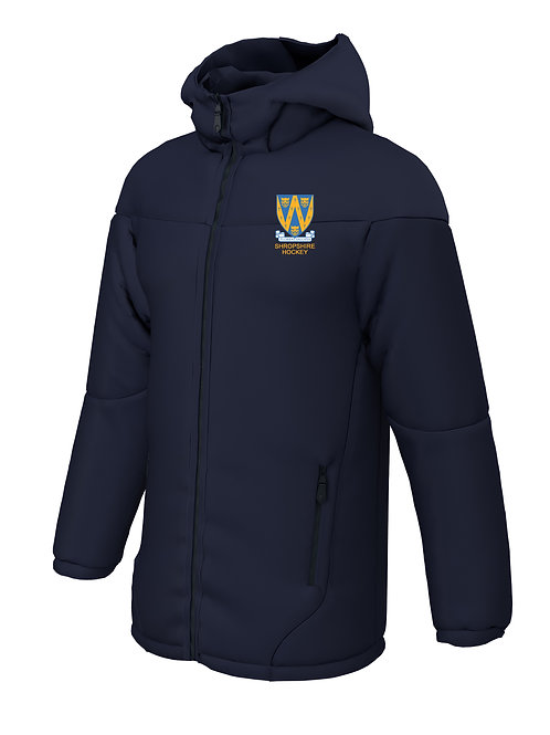 Team Coat (E784) Navy - Shropshire County Hockey