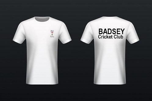 Tec - Tee (H787) White - Badsey CC