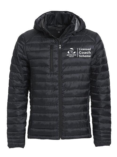 Hudson Padded Jacket Black (020976) Angling Trust
