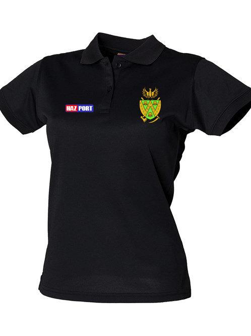 Lady Fit Polo -  HB476 - Black - Wem
